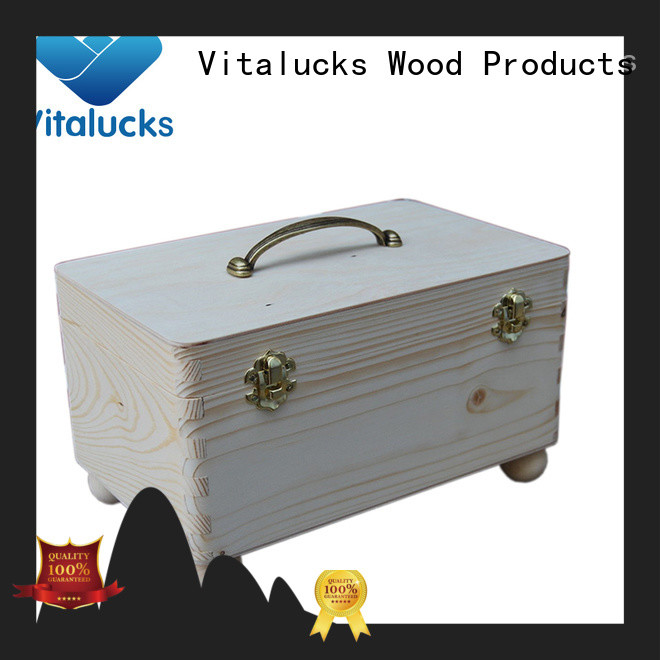 wooden box Vitalucks