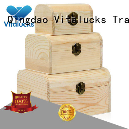 Vitalucks wooden crate gift box top-selling fast delivery