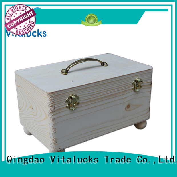 Vitalucks custom personalised wooden box favorable price