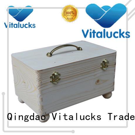 Vitalucks bulk wooden boxes wholesale supply