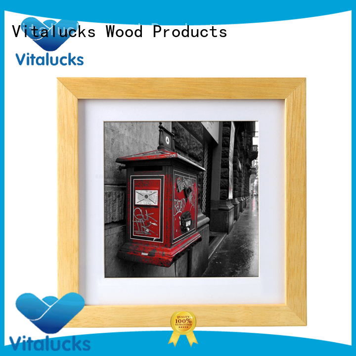 Vitalucks wooden picture frame wholesale supply best factory