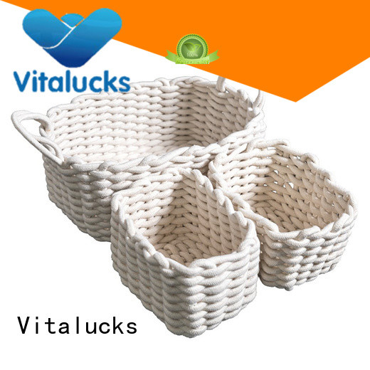 wholesale supply storage baskets for cube shelves practical manufacturing