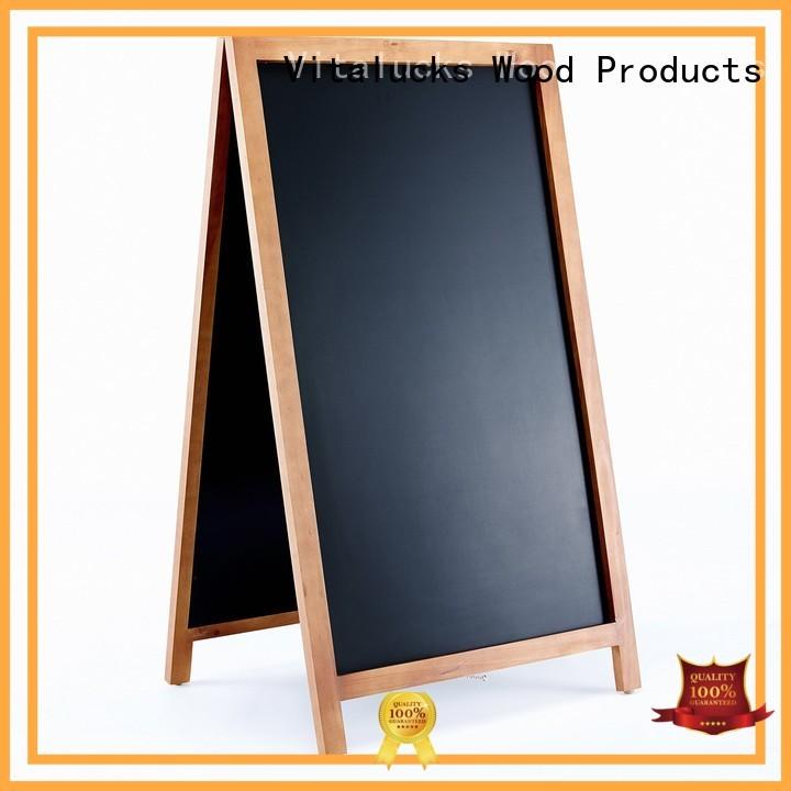 Vitalucks custom chalkboard wind resistant bulk supply