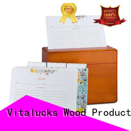 Vitalucks hot-sale personalised wooden box wholesale latest design