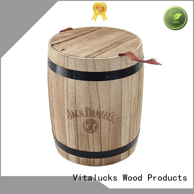 Vitalucks wooden canister advantageous wholesale