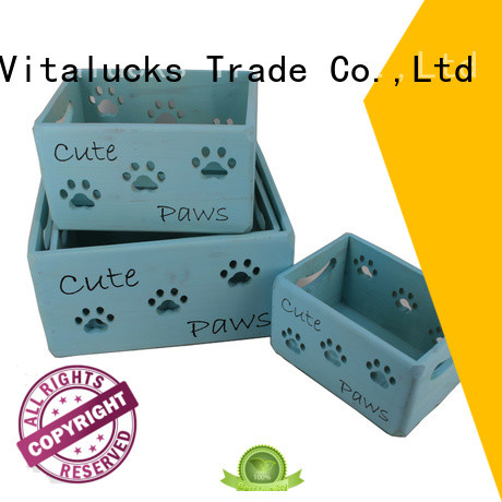 Vitalucks customized wooden box packaging top-selling at discount