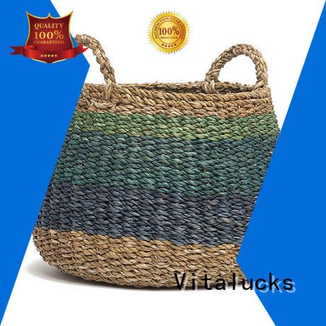 Vitalucks seagrass basket storage factory price top brand