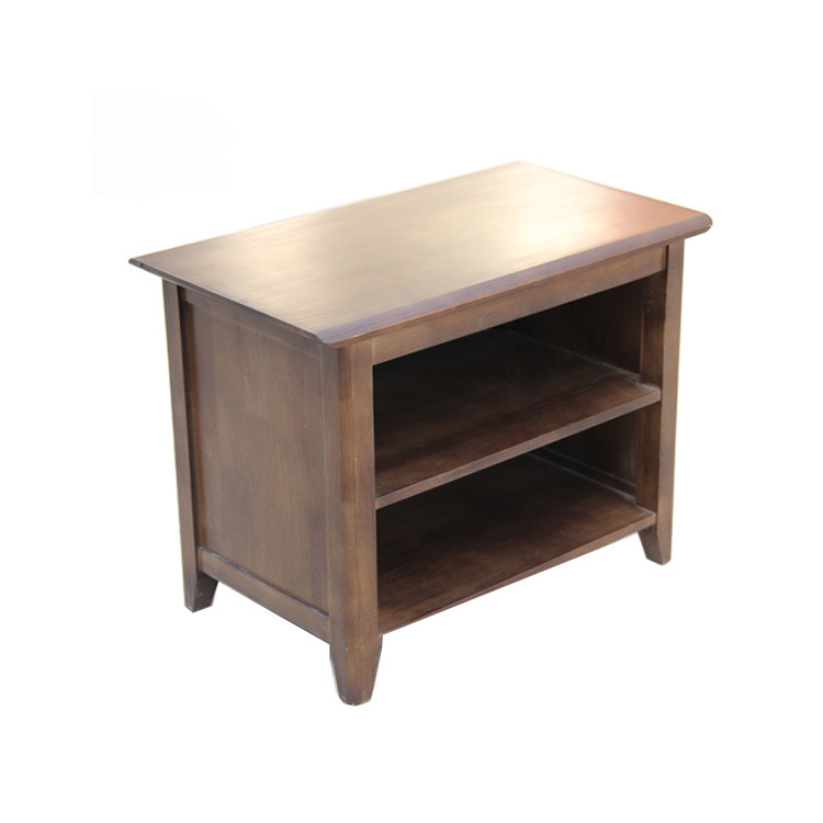 Wholesale Interiors  modern brown wooden shoes rack storage cabinet