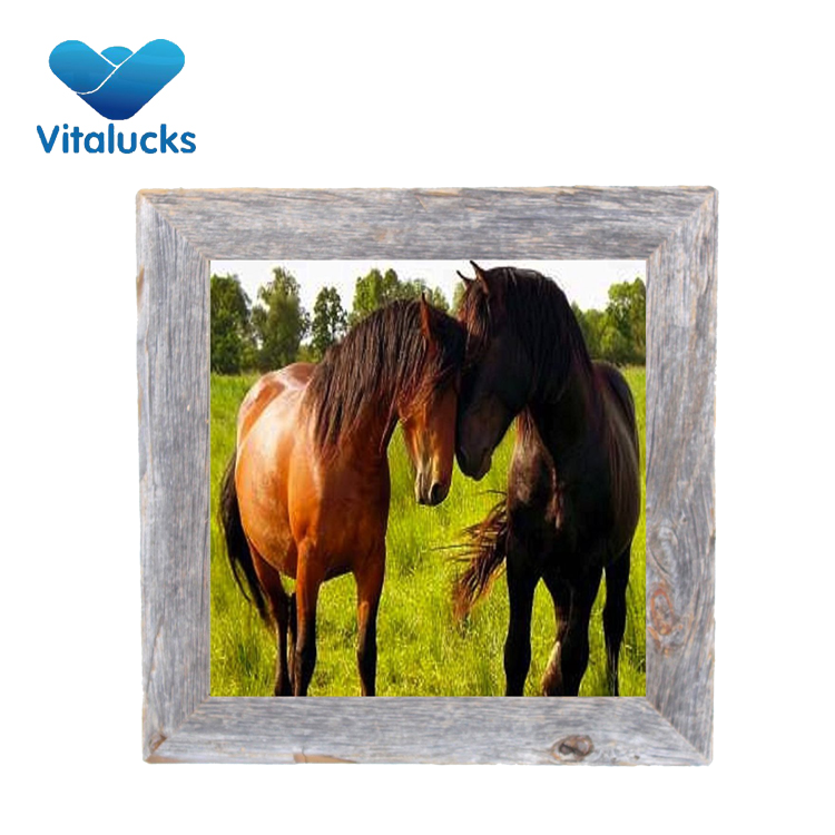 VL-PF13 8.2 x 8.2 x 0.8 inches square picture frame home decor photo frame