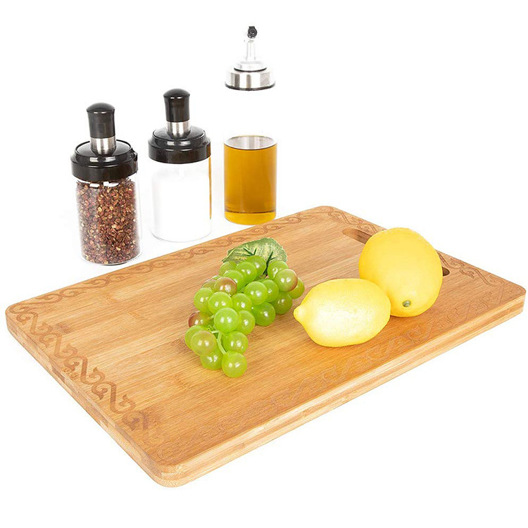 Environmental professional chefs organic bamboo cutting board