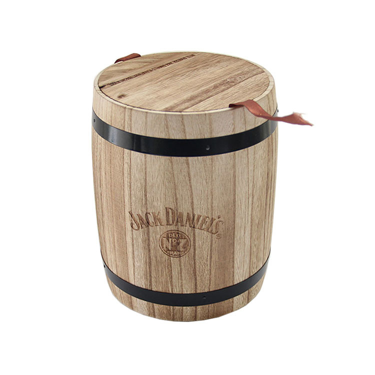 eco-friendly natural color coffee candy wine wooden barrel