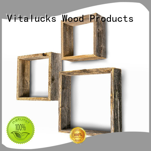 hot-sale wooden wall shelves advanced equipment competitive price