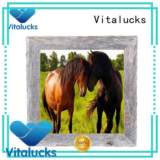 Vitalucks custom wood picture frames sample best factory