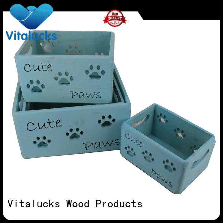 Vitalucks unique design essential oil wood box oil essential packing for pakaging