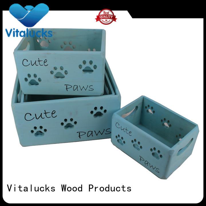 Vitalucks unique design essential oil wood box oil essential packing for pakaging
