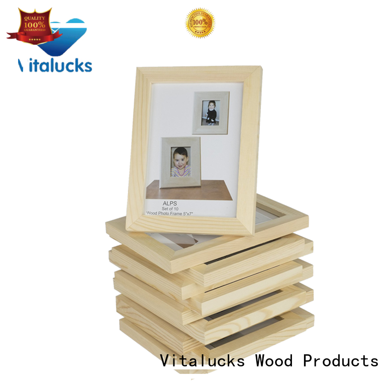 Vitalucks hot-sale large wooden photo frames wholesale supply best factory