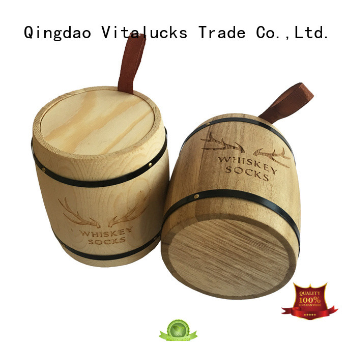 Vitalucks wooden canister multi-functional