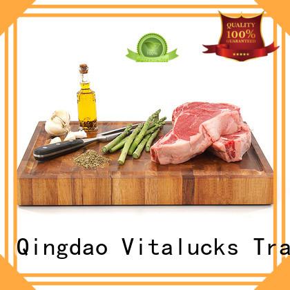 Vitalucks oem&odm wood chopping block industrial for chopping meat