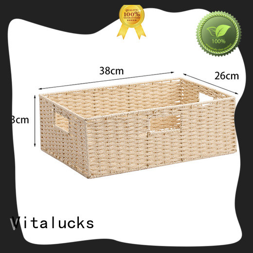 wholesale lined storage baskets for shelves pratical top brand