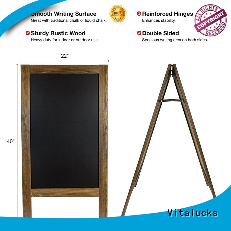 strict quality control wooden blackboard wind resistant bulk supply
