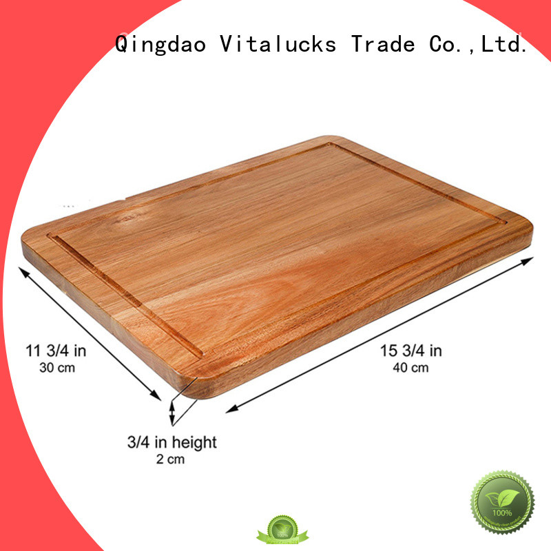 Vitalucks professional large wooden chopping boards industrial for kitchen