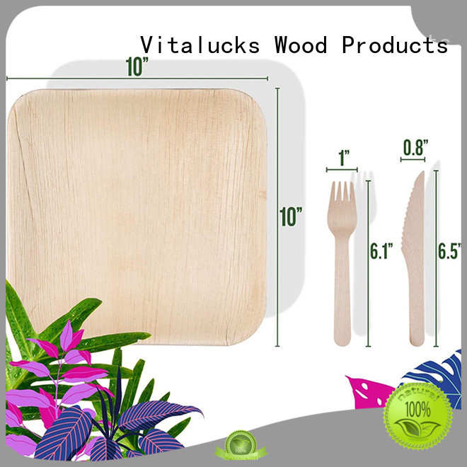 Vitalucks wooden tableware handy fast delivery