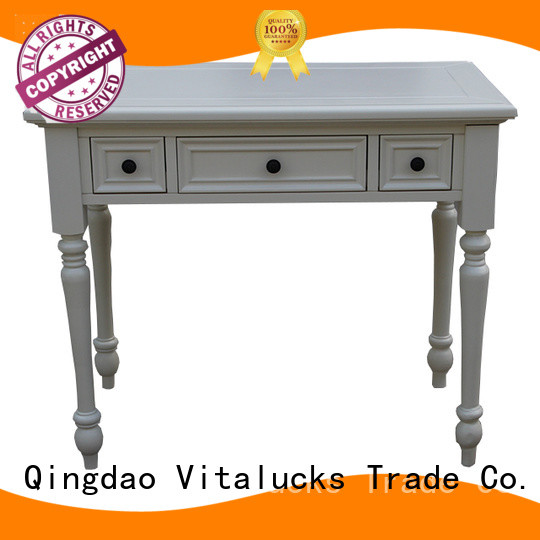 Vitalucks oem&odm real wood dining table commercial