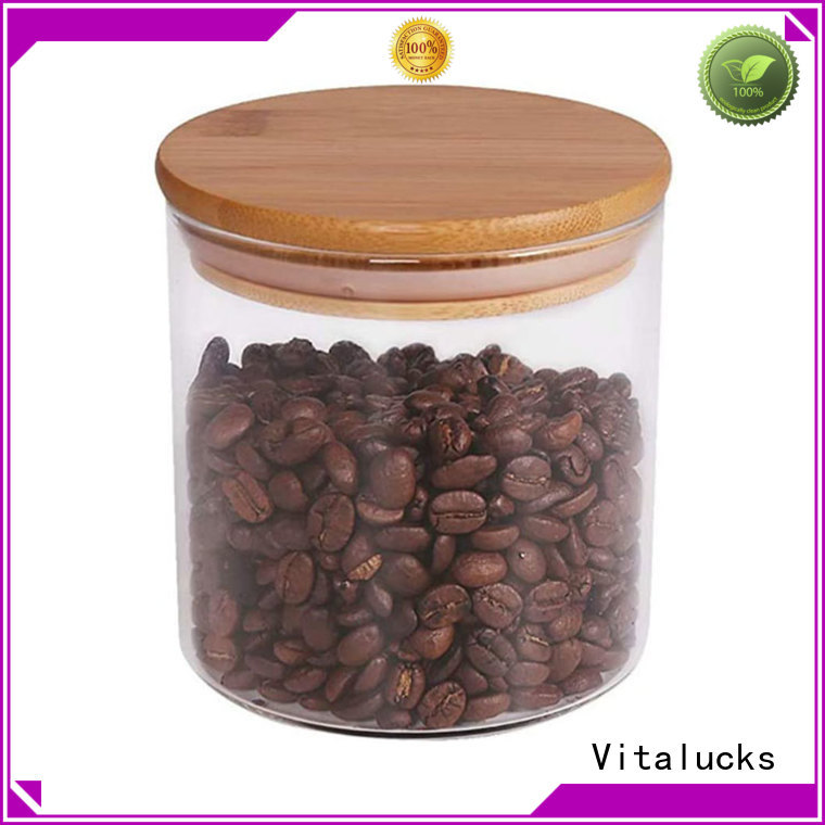 best price jar wooden lid sustainable production