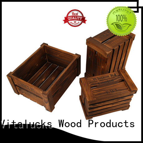 solid wooden crate popular good materials