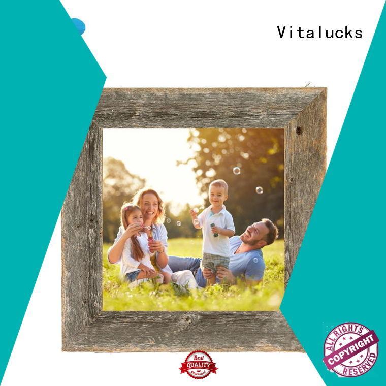 Vitalucks wooden picture frame bulk supply manufacturing