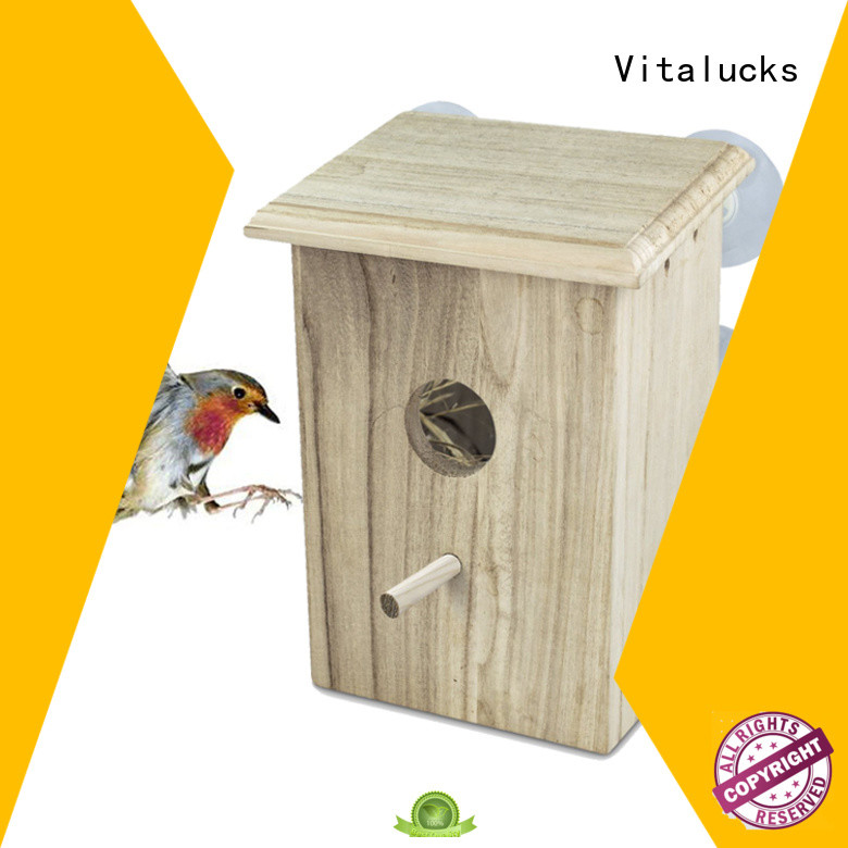 Vitalucks wholesale custom birdhouses competitive price