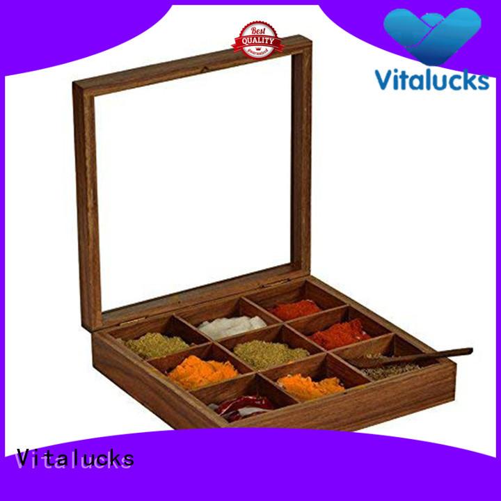 Vitalucks wholesale wooden kitchenware environmental friendly wholesale supply