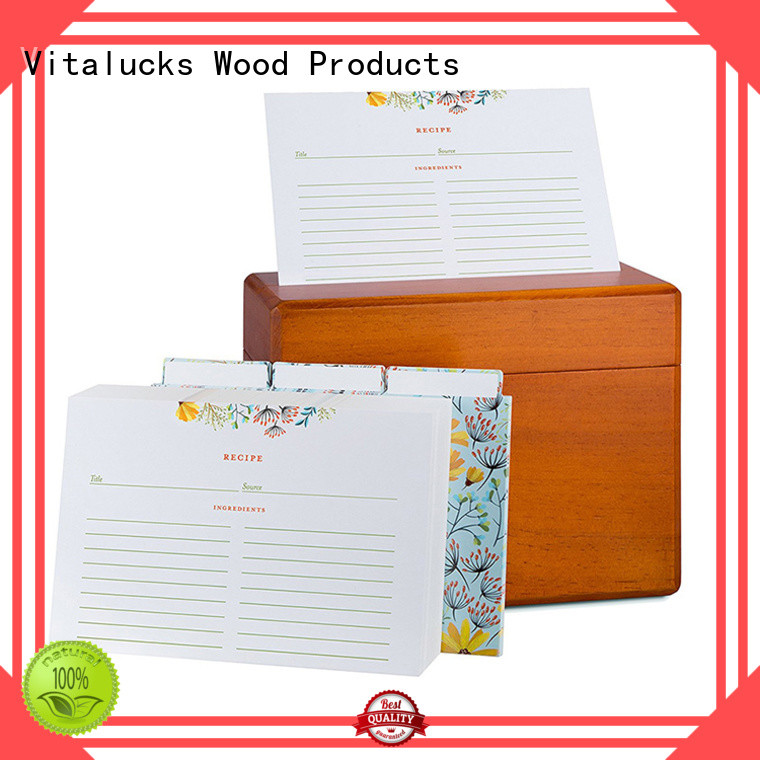 Vitalucks hot-sale wooden gift boxes wholesale quality assured supply