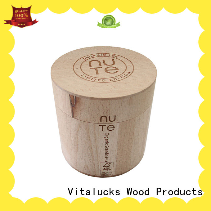 Vitalucks wooden kitchen canisters manufacturing wholesale