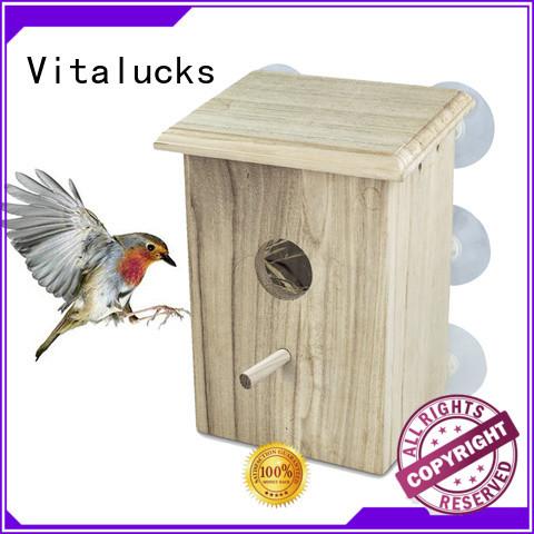 Vitalucks top-selling wooden bird house custom bulk supply