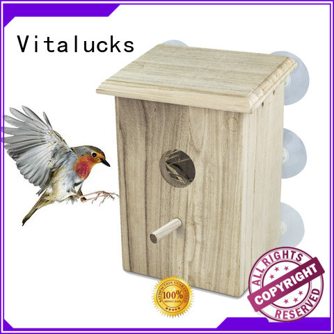 Vitalucks top-selling wooden bird house custom bulk supply