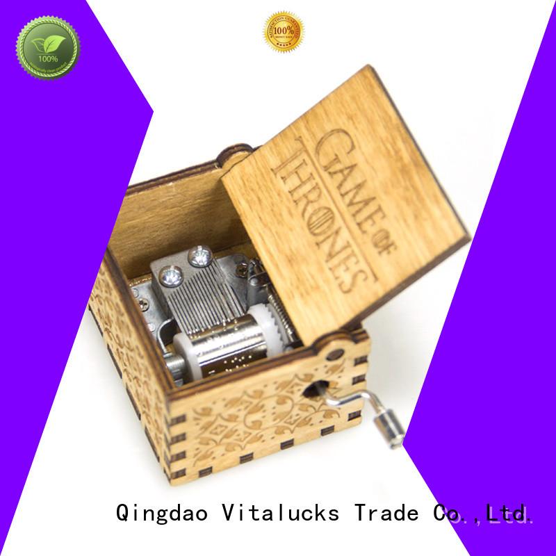 Vitalucks environmental music boxes for children best price simple construction
