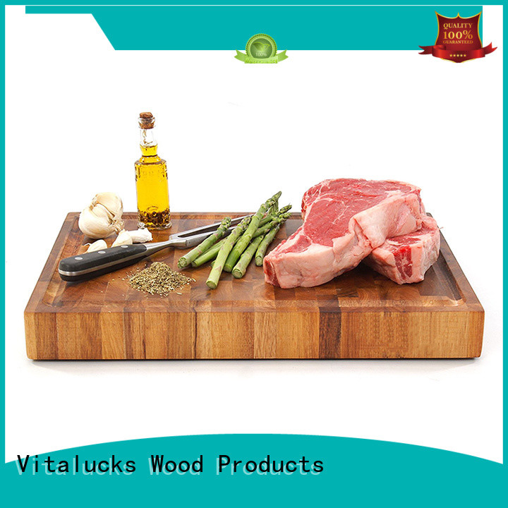 Vitalucks oem&odm wooden chopping boards industrial for chopping meat