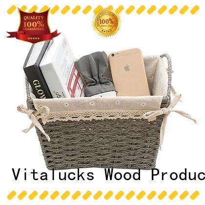 Vitalucks nursery storage baskets favorable price manufacturing