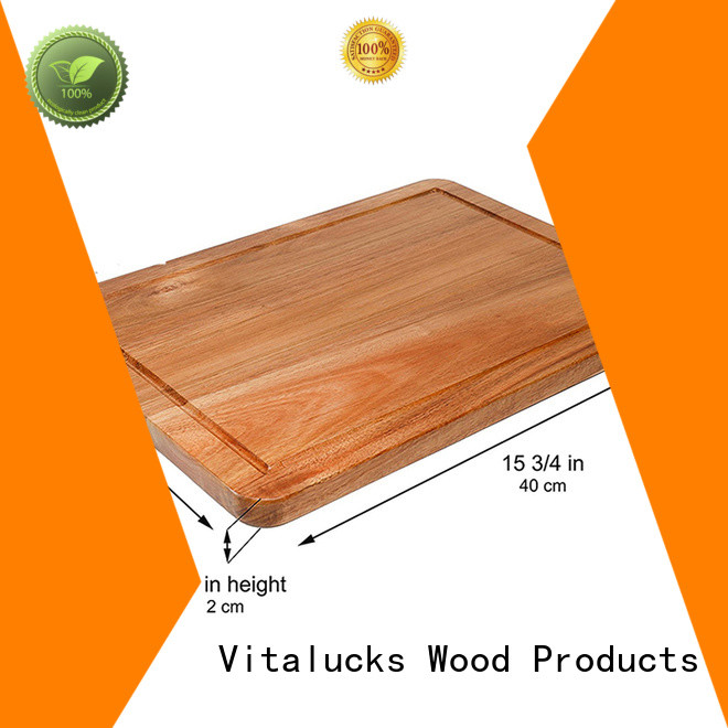 professional wooden cutting board commercial for kitchen