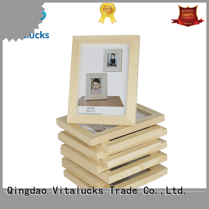 Vitalucks hot-sale fancy photo frame bulk supply manufacturing