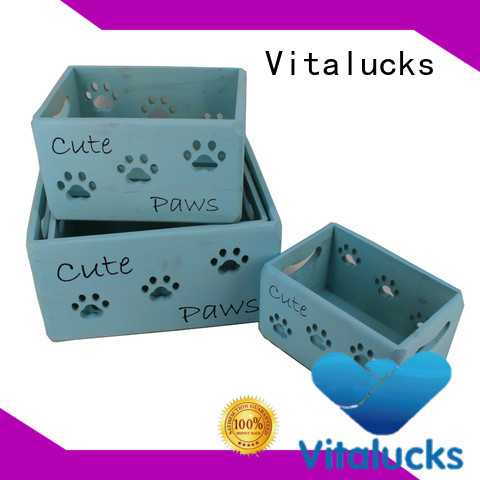 Vitalucks wooden crate high quality best factory price