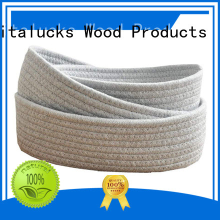Vitalucks tote baskets storage practical customizaition