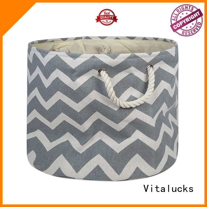 wholesale fabric storage baskets durable chic look