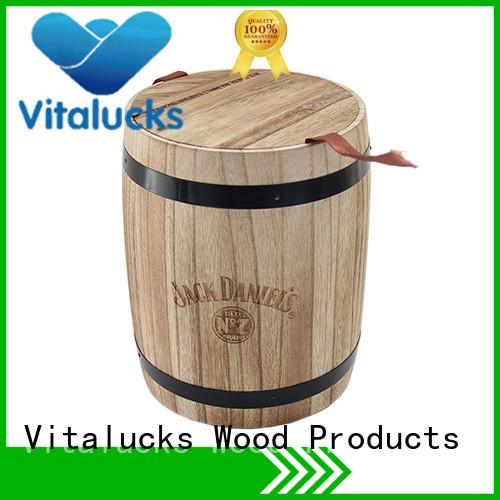 Vitalucks professional wooden canister multi-functional