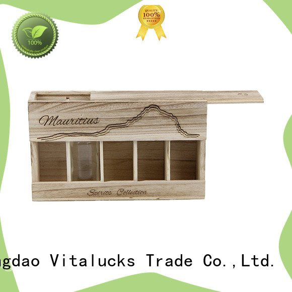 best price plain wooden box favorable quality large storage