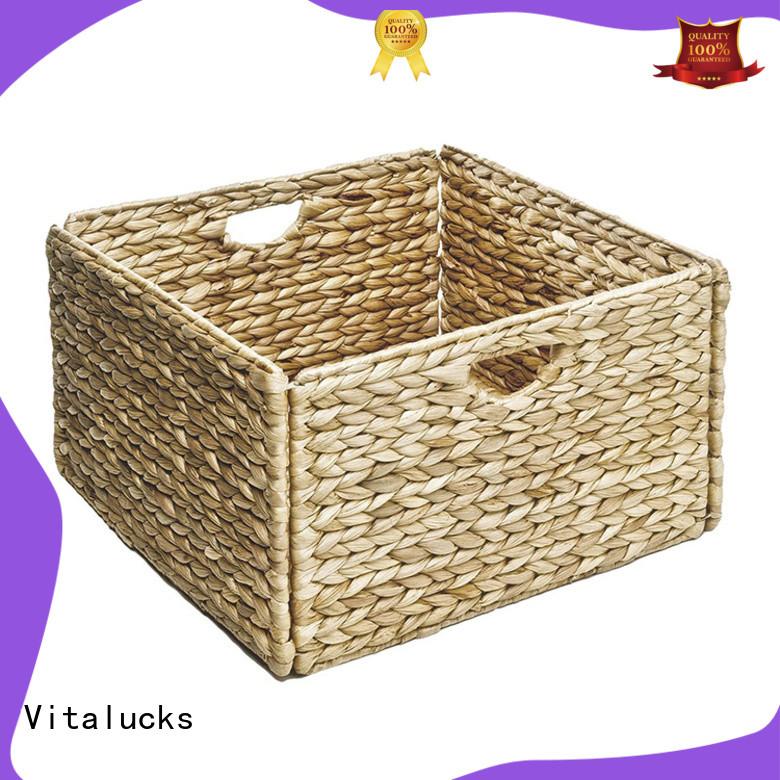 Vitalucks oem&odm bathroom storage baskets adjustable for bedroom