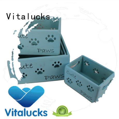 Vitalucks wooden crate hot-sale best factory price
