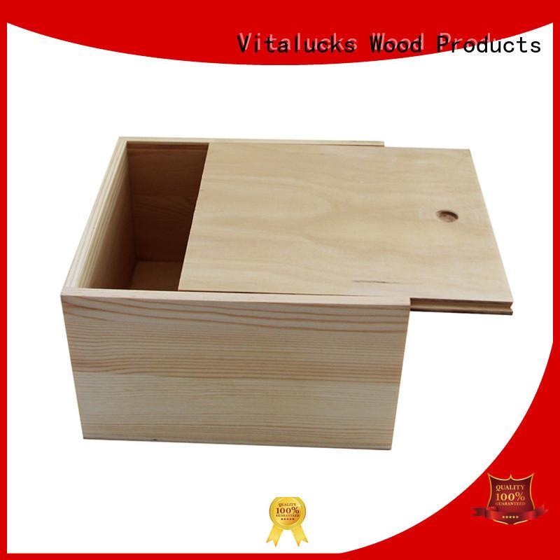 Vitalucks bulk wooden boxes wholesale fast delivery