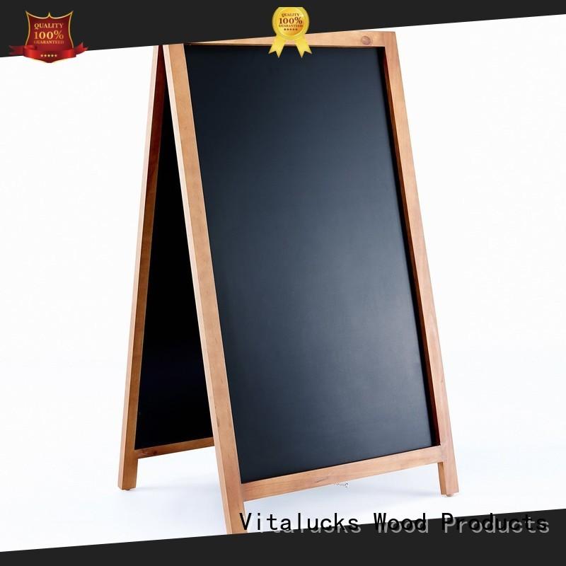 Vitalucks strict quality control custom chalkboard wind resistant bulk supply